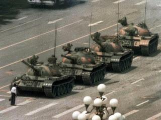 1989 Tank Guy in Tiananmen Square, Beijing, China